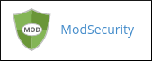 cPanel - Security - ModSecurity icon